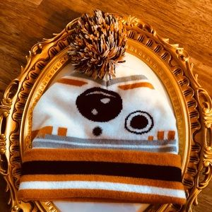 STAR WARS BB kids stocking hat
